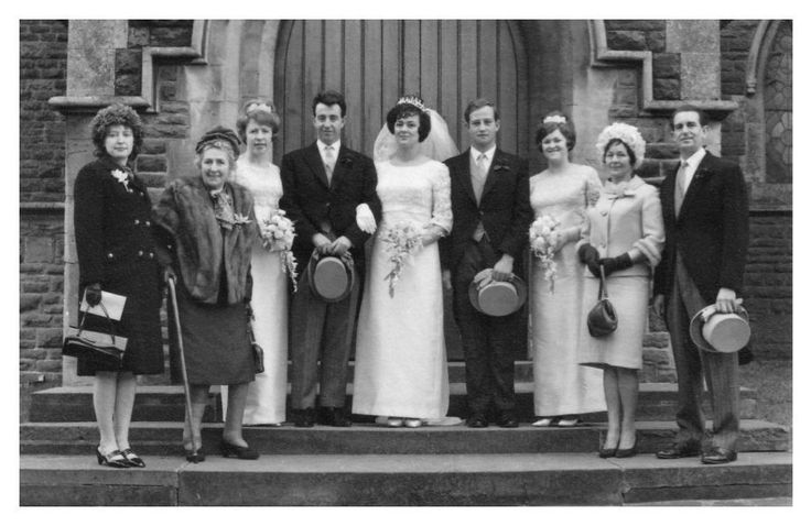 Image result for vintage 1960s wedding pictures