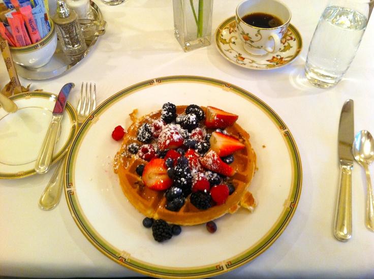breakfast at the Hay-Adams