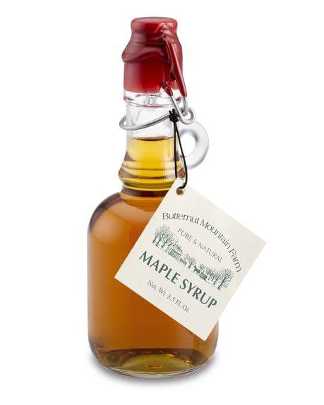 Wax sealed maple syrup jar | Butternut Mountain Farm Maple Syrup | Williams Sonoma