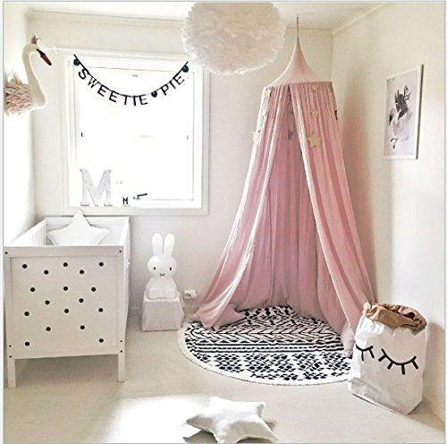Moustiquaire ciel de lit Irritation de la peau non De Bébé et Les Adulte Filles Princesse Jouer Tente Enfant Chambre Décoration