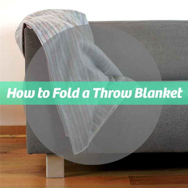 Do you know how to fold a throw blanket properly? Better Homes and Gardens put together a wonderful video showing 3 different styles of throw blanket folding.