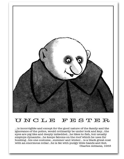 Uncle Fester via Google Images