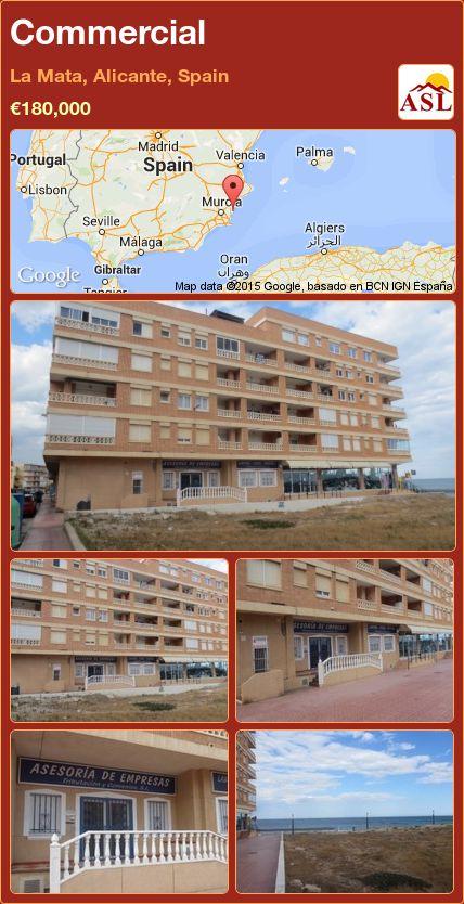 Commercial in La Mata, Alicante, Spain ►€180,000 #PropertyForSaleInSpain