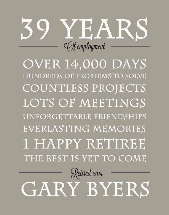 Retirement gift/print retirement Poster Retirement by perkypaper