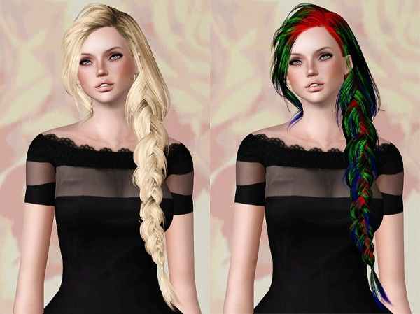 Skysims 257 hairstyle retextured by Chantel Sims for Sims 3