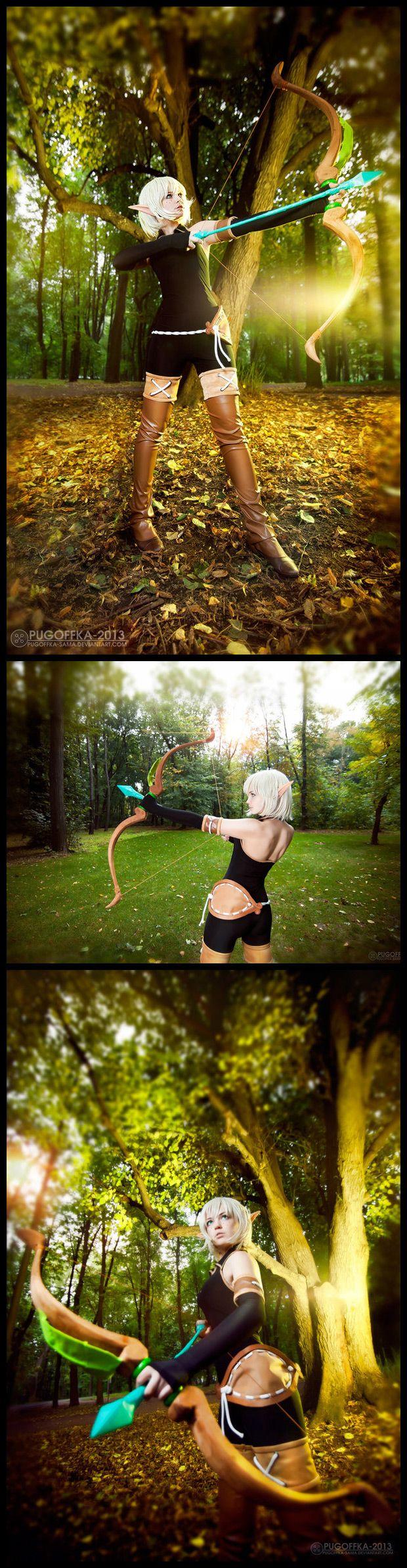 Evangelyne #Cosplay from Wakfu #MMORPG