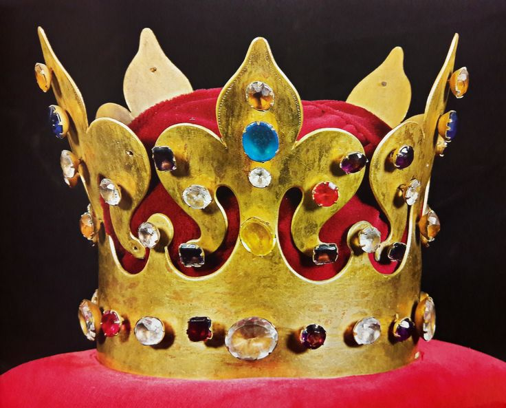 Copy of funeral crown of Casimir the Great by Aleksander Ziębowski after Anonymous from Kraków, 1869 after original from about 1370, Muzeum Skarbca Katedralnego