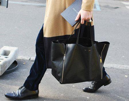 Celine : Horizontal Gusset Cabas Tote | wear | Pinterest | Celine ...