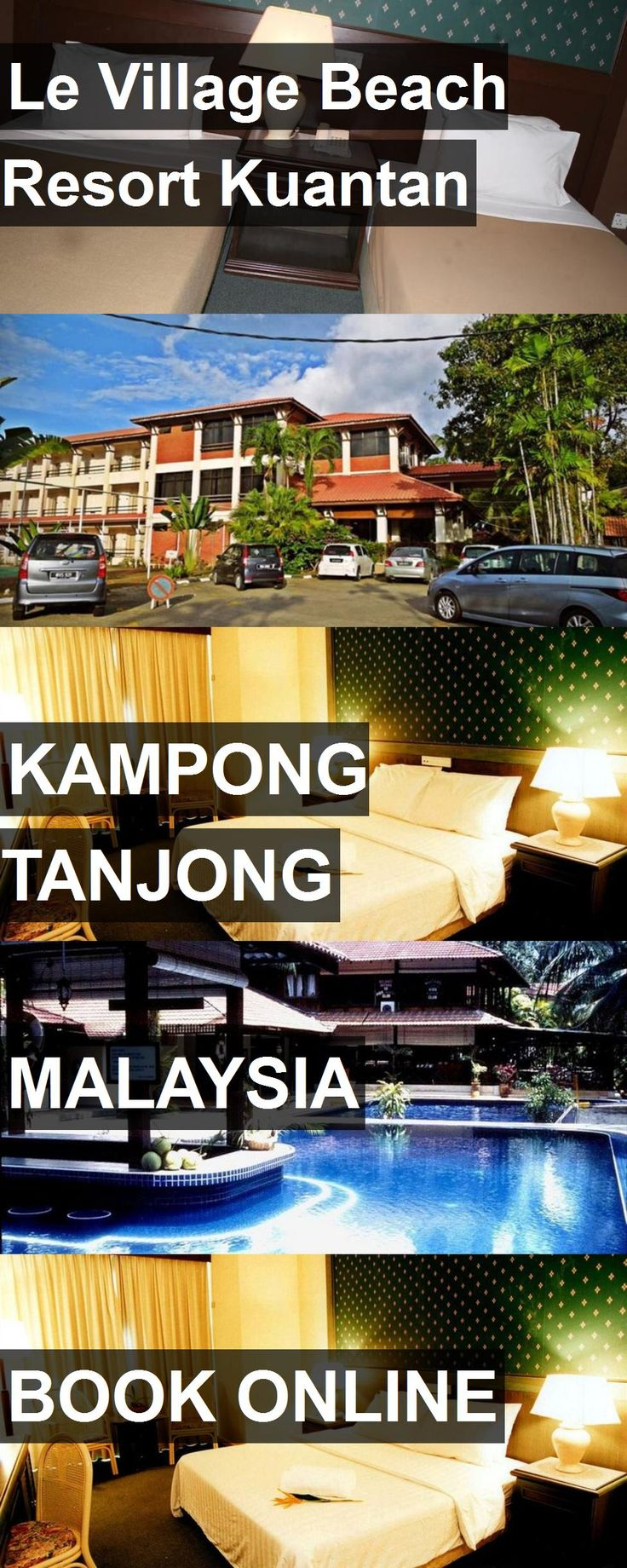 Hotel Le Village Beach Resort Kuantan in Kampong Tanjong, Malaysia. For more information, photos, reviews and best prices please follow the link. #Malaysia #KampongTanjong #travel #vacation #hotel