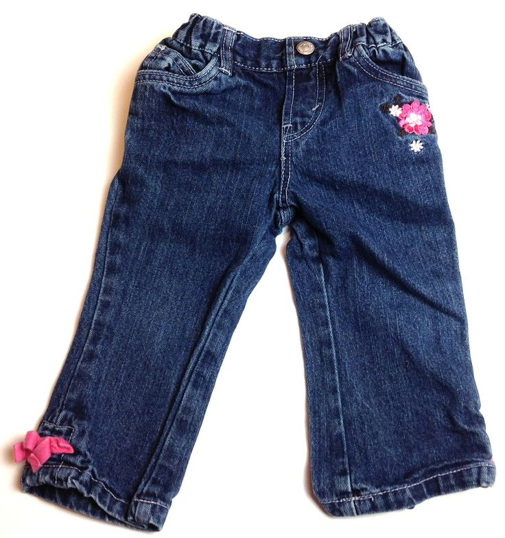 Cocostar levi jeans with embroidery months