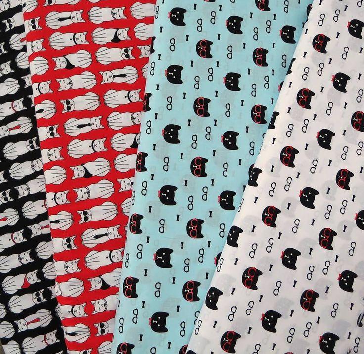 #cats :) #textile #craft #diy #handmade #cats #forgirls #fabrics #craftoholicshop #animals