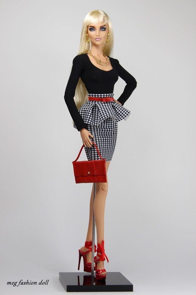 *Meg* Fashion Outfit for Kingdom Doll / Deva Doll ''CHIC I ''