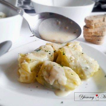 Stuffed cabbage rolls // Λαχανοντολμάδες