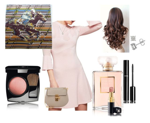 """""""Pariesenne Chic Coco Chanel Inspired"""" by aniri94 on Polyvore featuring Miss Selfridge, Chanel, Forzieri and Chloé"""