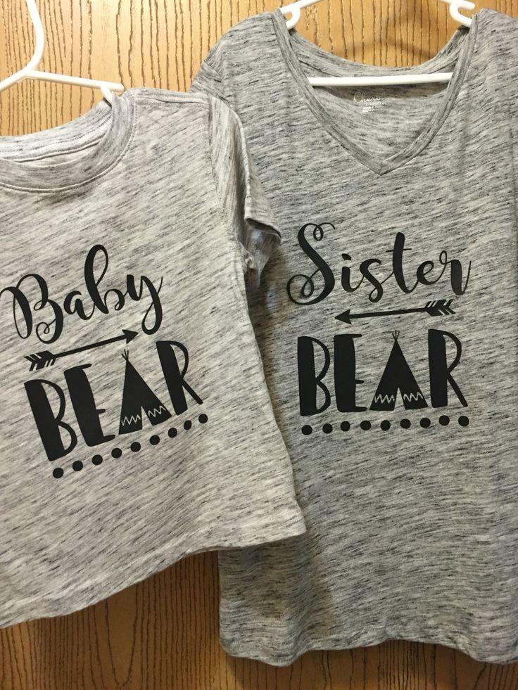 ---> Sibling shirts I made!!                                                                                                                                                                                 More