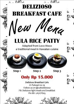 Our Weekend Special Lula Rice Patty Cafedelizioso.com