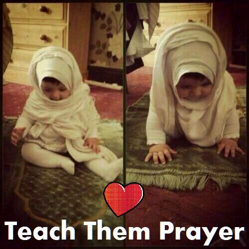 Teach them prayer since a young age. Always Pray on time for the sake of Allah and in shaa Allah they'll see you and they will learn. They will notice that 'my mother is praying after the calling of prayer and my father go to pray in mosque also so the girl will learn to always pray especially if she saw her mother leaving everything and go to pray and the boy will learn to pray on the mosque on time no matter what in shaa Allah.