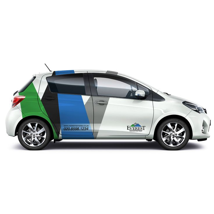 Designs car design for an estate agent car truck or van wrap contest