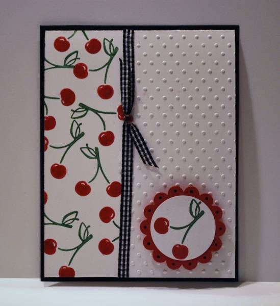 Tart & Tangy - Cherries by bcortez01 - Cards and Paper Crafts at Splitcoaststampers