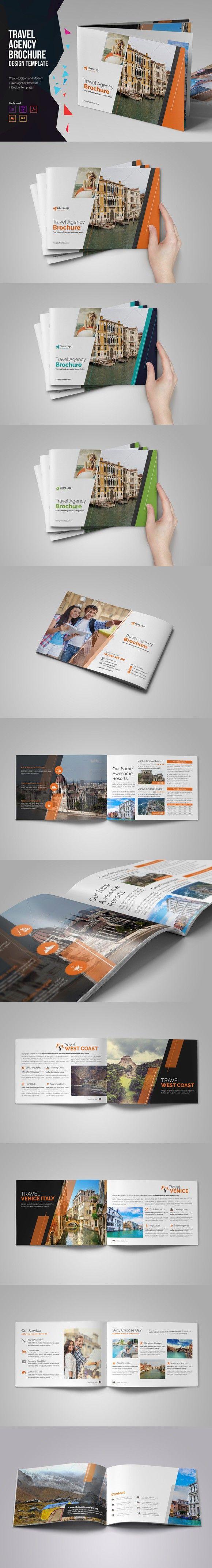 Holiday Travel Brochure Design v1