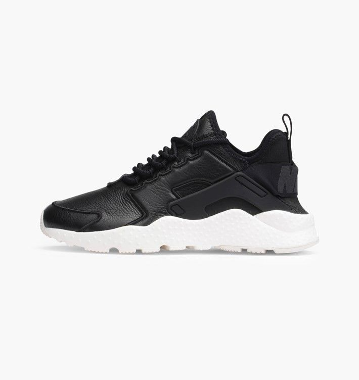 watch 1c005 da3f8 ... trainers uk sale, Fast and free delivery. Nike Air Huarache Run Ultra  SI Noir Ivoire 881100-001 - Femmes Baskets de course Outlet Pas cher
