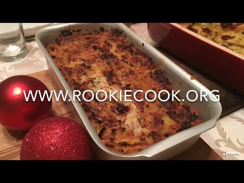 MAKE-AHEAD Christmas Stuffing - Rookie Cook