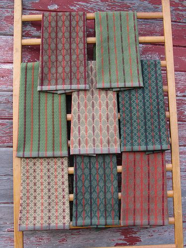 2013 First Handwoven Towels