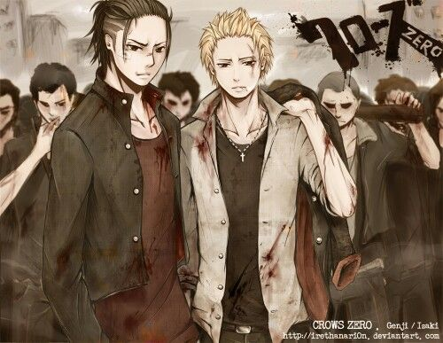 I wish they could make a crows zero anime