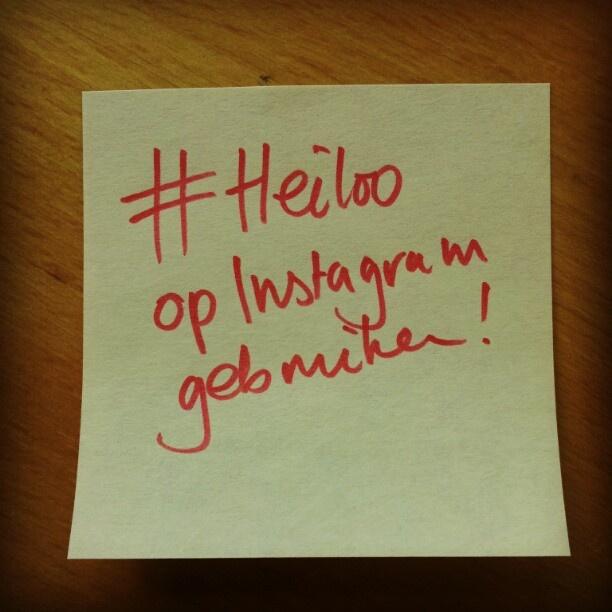 Foto's met #Heiloo op Instagram komen ook op http://www.heiloo-online.nl