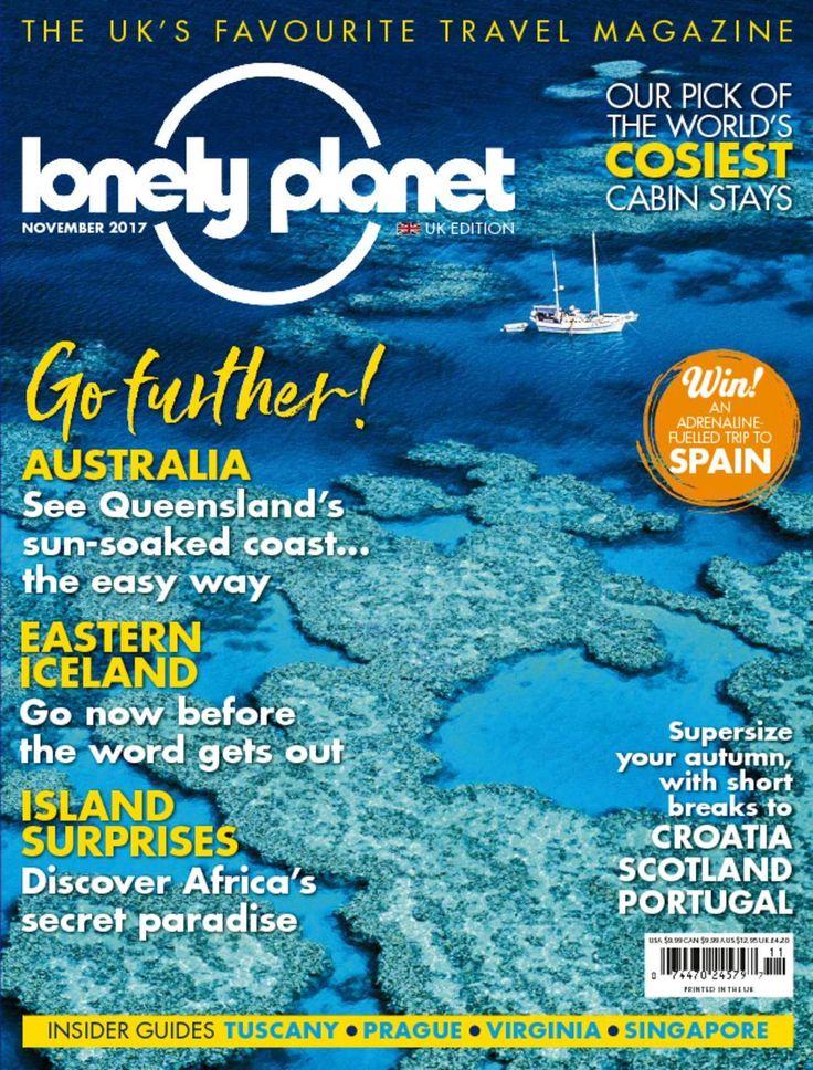Lonely Planet Magazine UK – Food & Travel Magazine Annual Subscription & Single Issue – Magazine Cafe