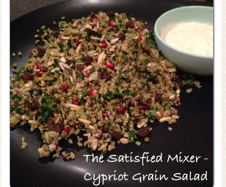 Cypriot Grain Salad by The Satisfied Mixer on www.recipecommunity.com.au