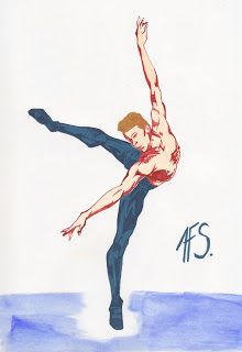 Ganymede and the Sketches: Ballet Man Movement