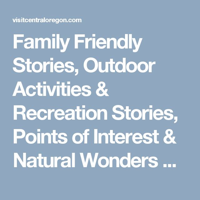 Family Friendly Stories, Outdoor Activities & Recreation Stories, Points of Interest & Natural Wonders Stories - Central Oregon Hiking: Tumalo Falls | Visit Bend, Sunriver, Redmond, Sisters | Central Oregon Tourism Information