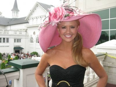 nancy o'dell kentucky derby...so cute