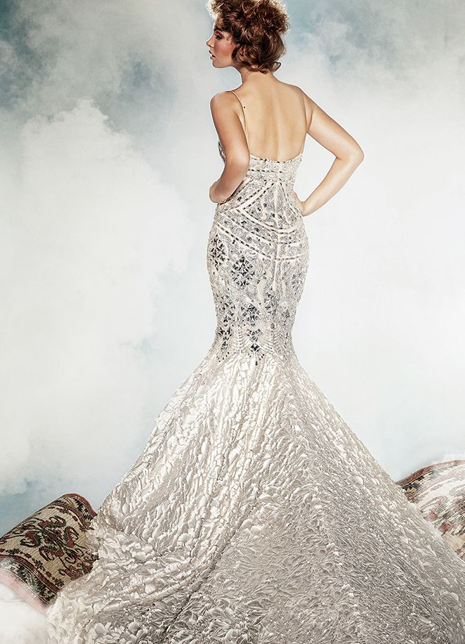 Dar Sara Wedding Dresses 2017 Collection Featuring Elaborate Swarovski Crystals To See More Http