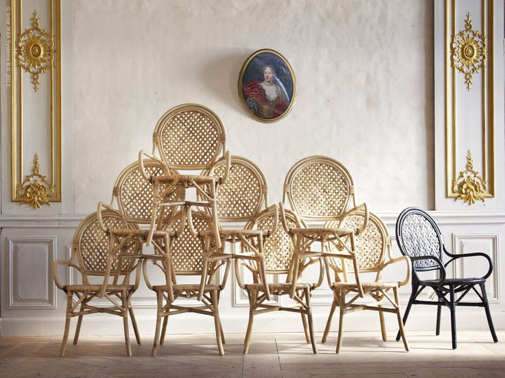 metal reproduction french bistro chairs cafe wholesale rattan