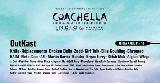 Coachella 2014 Lineup Is Officially Announced! Check Out The Full List Here!