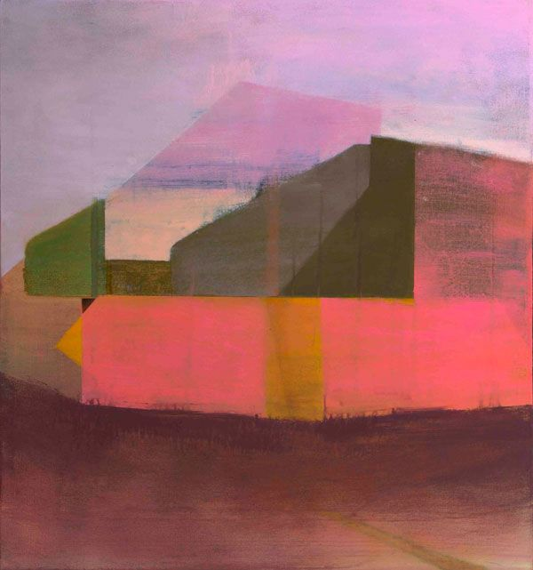 #painting Shift - Artwork by Tom Climent.