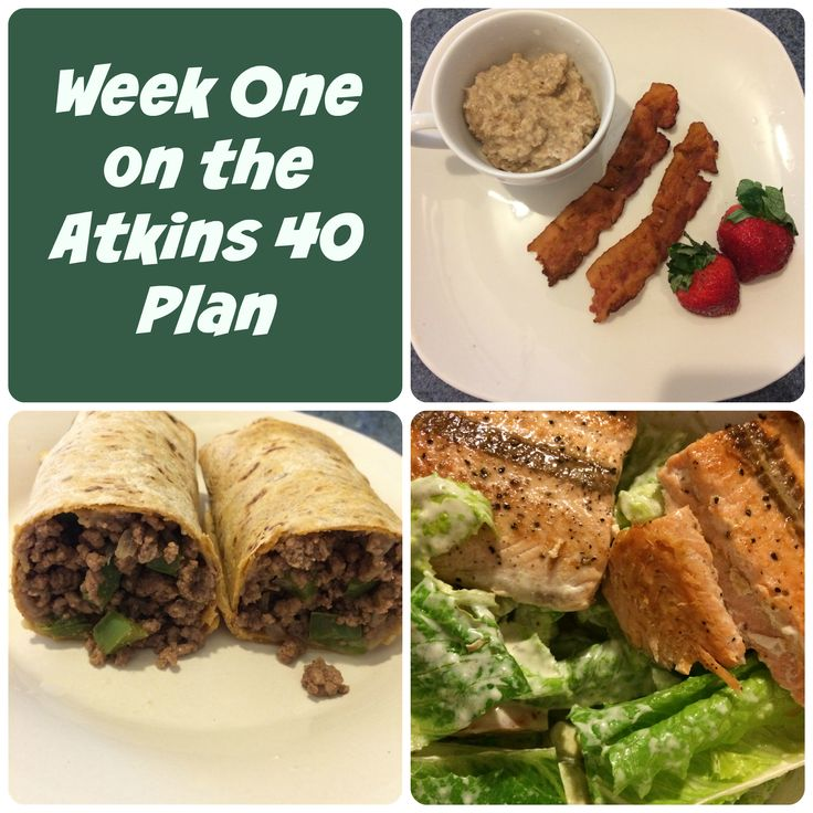 First Time Mom and Losing It: Week One on the Atkins 40 Plan