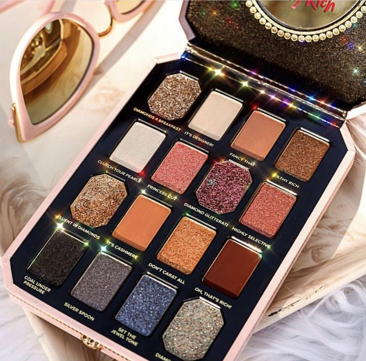 Too Faced pretty rich Luxury makeup, New eyeshadow