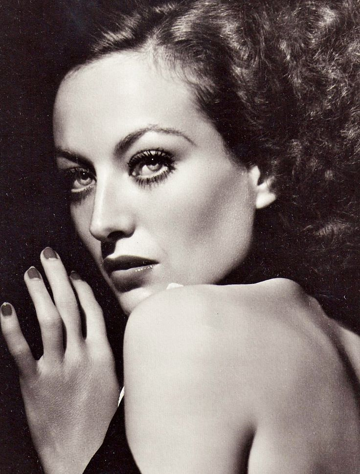 1934 Joan Crawford - Photo by George Hurrell.  Joan Crawford was one of the greatest of the movie actresses of Hollywood's Golden Age. She was a top star for several decades, cleverly renewing her image at regular intervals, so ensuring that she had one of the longest-ever movie careers in Hollywood. She always had great charisma, great style and hers is a true rags-to-riches story of a lowly chorus girl rising to the heights of show business success to rival all the great names of…
