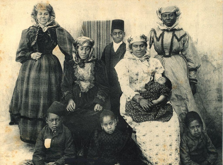 19th century Cape Malay photograph - National Library pic.