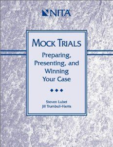 My personal recommendation for high school mock trial teams is this book.  It has all the basic and excellent tips for in competition necessities, layout in a methodical and easy to follow way.  Published by the National Institute for Trial Advocacy.  Available in used copies for reasonable prices.  http://www.worldcat.org/oclc/47046366