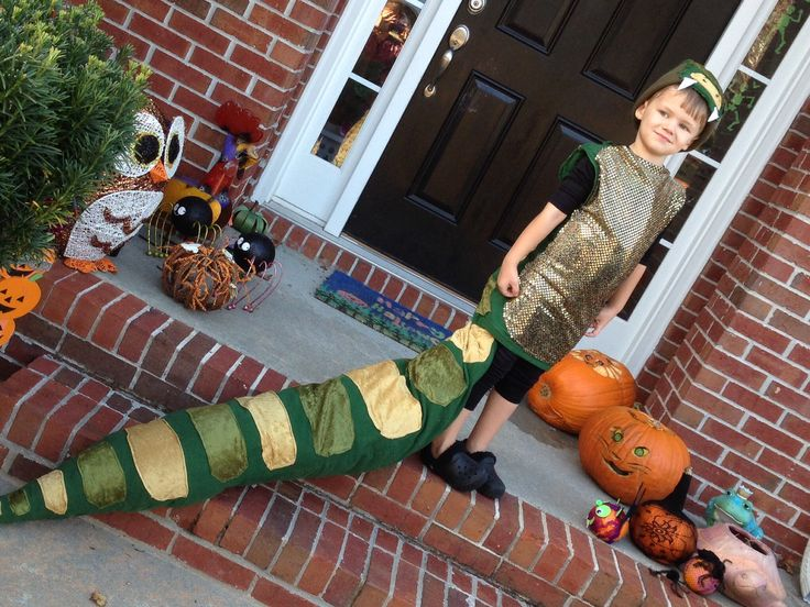 Really cool Halloween snake costume