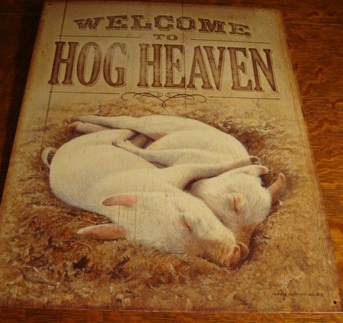 25 best pig decorations ideas on pinterest pig party for Pig decorations for home