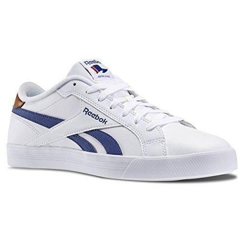 Oferta: 52€ Dto: -28%. Comprar Ofertas de Reebok Royal Complete Low Zapatillas de tenis, Hombre, Blanco / Azul / Marrón, 43 barato. ¡Mira las ofertas!