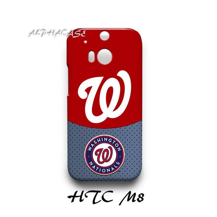 Washington Nationals HTC M8 Hardshell Case Cover
