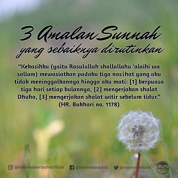 Follow @NasihatSahabatCom http://nasihatsahabat.com #nasihatsahabat #mutiarasunnah #motivasiIslami #petuahulama #hadist #hadits #nasihatulama #fatwaulama #akhlak #akhlaq #sunnah #aqidah #akidah #salafiyah #Muslimah #adabIslami #ManhajSalaf #Alhaq #dakwahsunnah #Islam #ahlussunnah #tauhid #dakwahtauhid #Alquran #kajiansunnah #salafy #dakwahsalaf #tiga3malansunnah #wasiatNabi #tiga3wasiatNabi #puasaAyymulBidh #Witir #Dhuha