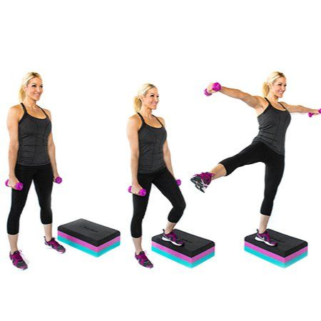 Image result for Side Step-Up and Kick