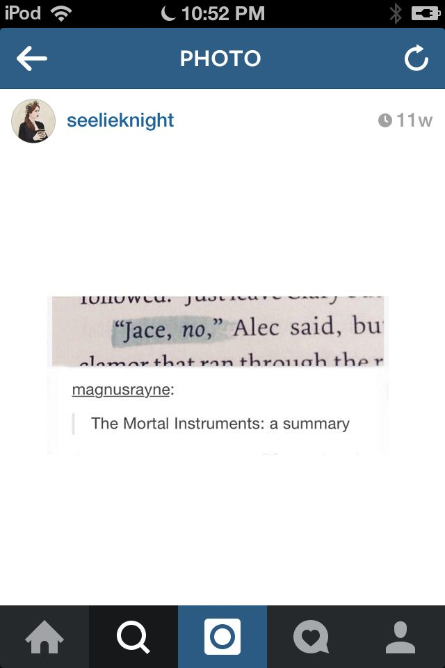 """It's different variations of the same thing: """"Jace, no."""" """"Jace HELL no!"""" """"Jace stop."""" """"No, Jace! Bad Jace!"""""""